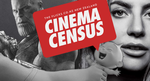 Complete the 2018 Cinema Census and win a year of free movies